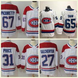 2172396ae Montreal Canadiens Hockey 4 Jean Beliveau 6 Shea Weber 13 Max Domi 31 Carey  Price 92 Jonathan Drouin 27 Alex Galchenyuk Jerseys S-3XL