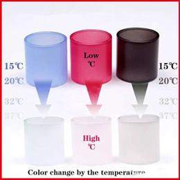 farbe wechselbares glas Rabatt Magie veränderbar Farbwechsel Temperatur Glasrohr Pyrex Ersatz Ersatzglas für TFV12 TFV8 Baby X Big RBA Vape Stift 22 Plus DHL