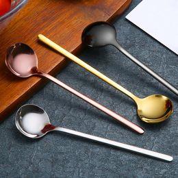Cucchiai mini acciaio inossidabile online-Mini Cucchiaino da Caffè Cucchiaino da Tè in Acciaio Inox Mescolando Cucchiaino da Bar Ristorante Forniture da Cucina Natale Festa di Compleanno Utensile WX9-873