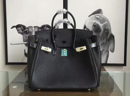 Wholesale handle locks - AAA Quality Iconic Berkin 20-25-30-35-40cm Taurillon Leather Totes Bags,Turn lock closure,Double Top Handles,Come with Dust Bag