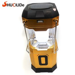 Wholesale Focus Light Bulbs - tent Nightlight High brightness adjustable focus tent camping Hanging lights Spotlights Light Collapsible led lantern