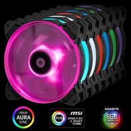 asus e motherboards Desconto 3pcs Pack com fio divisor RGB. ID-COOLING SF-12025-RGB RGB Sincronização com placas-mãe Asus / MSI / Gigabyte, Alta Pressão Estática, PWM