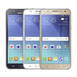 samsung разблокированные телефоны gsm Скидка Оригинальный восстановленный Samsung Galaxy J700F Мобильный телефон 1.5GB RAM 16GB ROM Core Dual Sim 3G Net 2SIM / Multi-Bands Unlocked сотовый телефон