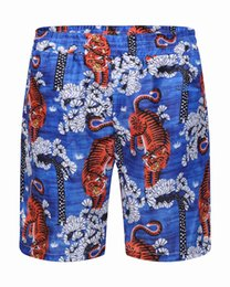 Wholesale Lifes Beach - New Board Shorts Mens Summer Beach g Shorts Pants High-quality Swimwear Bermuda Male Letter Surf Life Men Swim Tiger Shorts