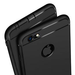 Canada Ultra Slim Silicone Case pour iphone 7 6 6s 8 X couverture Coque bonbons couleurs noir Shell doux TPU mat téléphone cas pour iphone7 8 plus Offre