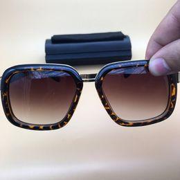 944699318d4 Designer Coating Sunglasses Plated Leopard Frame Brown Lenses eyewear Metal  Sun Glasses Mens Womens Eyeglasses Gafas De Sol 616