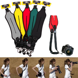 Wholesale Bags For Tripods - Quick Strap Rapid Single Shoulder Sling Belt Neck Strap for Canon Nikon Sony Pentax Panasonic Olympus Digital SLR DSLR Cameras
