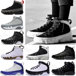 Wholesale Genuine Leather Boots For Cheap - 2018 Cheap 9 IX mens Basketball Shoes For Men Fashion High Quality Sneakers Trainer Athletics Boots Outdoor designer Shoes size Eur 40-47