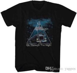 Poster in metallo nero online-Def Leppard Black Light Poster Design Maglietta per adulti Heavy Metal Music