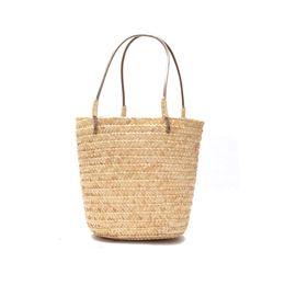 Wholesale Casual Ladies Handmade Bags - Fashion Bag 2018 New Bohemian Beach Top-handle Bags Handbags Women Summer Handmade Woven Handbag Ladies Vintage Retro Straw Knitted Tote Bag
