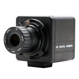 2019 montaje de luz de la cámara CS Mount Manual de enfoque fijo Star Light iluminación baja 2MP 1080P SONY IMX291 Webcam UVC Plug Play cámara USB con estuche montaje de luz de la cámara baratos