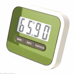 кухонные часы Скидка 5 цветов большой многофункциональный ЖК-кухня приготовления таймер обратного отсчета вверх часы громкий сигнал тревоги магнитный бренд прохладный c454