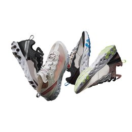 Wholesale sneakers for winter - Upcoming React Element 87 UNDERCOVER 2018 New Mens Designer Sports Running Shoes for Men Sneakers Women Luxury Brand Casual Trainers