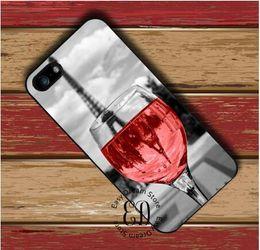 2019 capa dura do vinho Frete grátis telefone móvel em copo de vinho em paris capa dura case para iphone 4 4s 5 5s se 5c 6 6 s 7 8 plus x samsung note 8 s9 plus capa capa dura do vinho barato