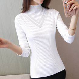 Discount thick winter sweaters for women - New Thick Turtleneck Warm Women Sweater Autumn Winter Knitted Femme Pull High Elasticity Soft Female Pullovers Sweater for women