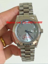 2019 relógios de pulso de platina Relógios de luxo 228206 Platina 40mm Ice Blue Árabe Rare Dial Automática Marca de Moda Relógio de Pulso dos homens desconto relógios de pulso de platina