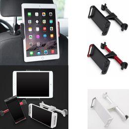 Wholesale back seat ipad holder - Universal Car Seat Phone Bracket Backseat Mount For iPhone iPad Samsung Back Seat Mobile Phone Holder Stand Home Decor GGA652