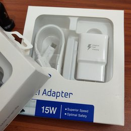 Canada Adaptateur de charge rapide 5V 2A US / EU / AU / UK Prise murale chargeur rapide + 1,5M micro-données USB Câble de charge rapide avec emballage d'origine Offre