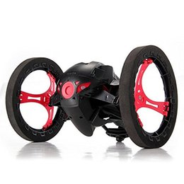 Wholesale Electric Rc Car Wheels - 2 .4g Rc Radio Drone Jump High Bounce Car With Flexible Wheels