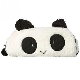 Бумажные кошельки онлайн-Симпатичные Мягкие Panda Карандаш Pen Чехол Сумка Для Хранения Косметический Макияж Сумка Кошелек