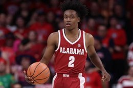 Wholesale Custom Stitched Jerseys - Custom Alabama Crimson Tide NCAA College Basketball Jerseys Red White #2 Collin Sexton Stitched Any Name Any Number Basketball Jersey
