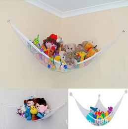 sale stuff toys Promo Codes - Hot Sale Kits Baby Hanging Toy Hammock Net Corner Stuffed Animals Pet Organizer Storage Plush Doll Storage Bag