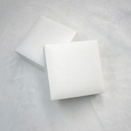 embalagem dia dos namorados Desconto As caixas de exposição pretas quadradas brancas da jóia de veludo que empacotam para Pandora encantam a colar do bracelete do estilo Caixa original Sacos do presente do dia de Valentim