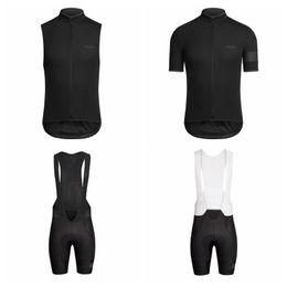 Wholesale Bike Jerseys Sale - RAPHA Cycling Short Sleeves jersey (bib) shorts Sleeveless Vest sets 2018 Summer MTB Bike Ropa ciclismo hombre Hot Sale A41940