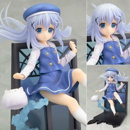 Wholesale Finish Order - Action Figure Koi Manga Time Kirara Max Is the Order A Rabbit? PVC 17cm Animation Cartoon Collectible Model anime