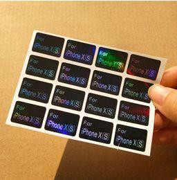 Etiquetas universales online-Nueva etiqueta al por mayor de encargo de la llegada para la caja del teléfono móvil o rellenos del cliente impermeable Modelo etiqueta engomada para la caja del teléfono celular