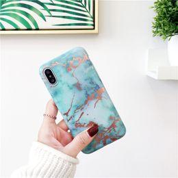 Canada DHL gratuit vente chaude cas de marbre pour iphoneX 8 7 7 Plus luxe souple TPU couverture de mode pour iphone6s 6 plus 2018 nouvelle IMD cas Offre