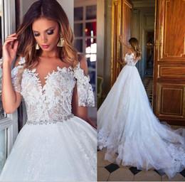 Vintage Lace Wedding Dresses Reception