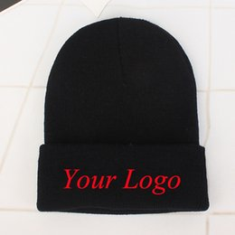6ddf6d71 China Provide your own custom hat embroidery logo at least 500 pieces cheap custom  beanies suppliers