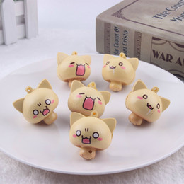 Wholesale Mushroom Charms Pendants - Cartoon Mini Mushroom Squishy Phone Straps Charm Pendant Squishies Kid Toys Gift Decompression Toy New 2 4sq CR