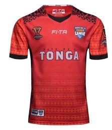 Taza de prueba online-TONGA RUGBY LEAGUE WORLD CUP 2017 HOME JERSEY 17 18 Nueva Zelanda TONGA rugby Jerseys TONGA RUGBY LEAGUE 2018 PACIFIC TEST JERSEY talla S-3XL