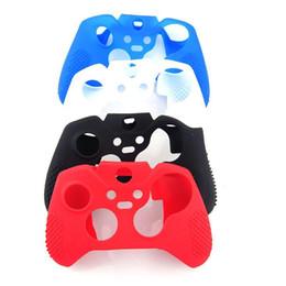 xbox un controlador cubre Rebajas alta calidad durable de silicona flexible protectores de la piel suave cubierta de la caja protectora para Xbox One Controller Xbox uno controlador Elite Sweat gratis