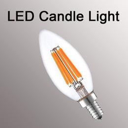шаровая лампа с регулируемой яркостью Скидка Нити Сид Dimmable освещает Е12 Е14 Е27 В22 свечи лампы 2W 4W 6 Вт 8 Вт электрические лампочки глобуса G45 А60 st64 лампа G95 привело светильник