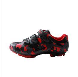 2019 велоспорт Tiebao  Cycling Shoes MTB Calzado Ciclista Ultralight Mens Breathable Shoes For Racing Zapatos De Ciclismo дешево велоспорт