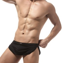Sexy Mens Sleep Lounge Pajama Bottoms Uomo confortevole biancheria intima Sexy mutande maschili Boxer Shorts Mutandine da