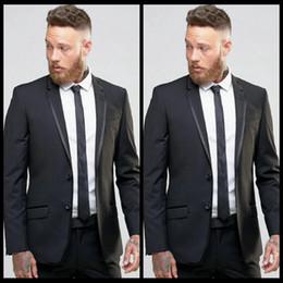 4d67addece3 images fashion coat Promo Codes - Fashion 2 Piece Men Suits Slim Fit Groom  Tuxedos Groomsmen