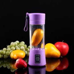 Canada USB Portable Électrique Presse-Agrumes Fruit Bébé Aliments Milkshake Mélangeur Multifonction Juice Maker Machine 4 Couleurs Offre
