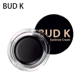 2019 potenziatori di colore degli occhi BUD K Marca Enhancer per sopracciglia Maquiagem Makeup Colore marrone Impermeabile naturale Eye Brow Filler Pomata Gel potenziatori di colore degli occhi economici