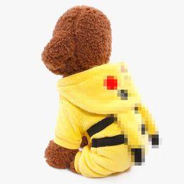 Nouveau mode Cosplay Pet Costumes Carton mignon Vêtements unisexe Loisirs Vêtements pour Chiens Chats Vêtements pour animaux Outfit ? partir de fabricateur