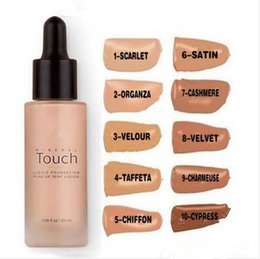 Wholesale Full Circle Lighting - Make You Unique Mineral Touch Skin Liquid Makeup Foundation 20ml Pro Concealer Base Primer Maquillage Kit