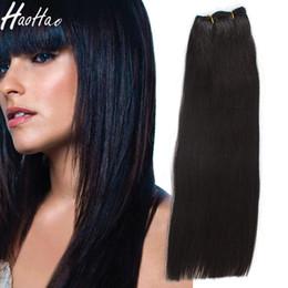 образец бразильского утка Скидка Двойное утопление!!! #1B цвет 14 дюймов virgin remy бразильский человеческих волос утка высокое качество для чернокожих женщин индивидуальные образец Бесплатная доставка