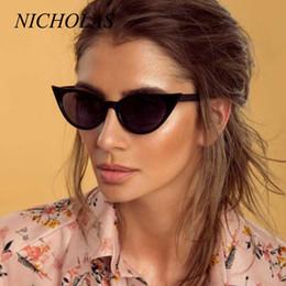 2c75b89ba05 NICHOLAS Retro Sexy Cat Eye Sunglasses Women Fashion Women Sun glasses  Eyewear Oculos De Sol Feminino Lunette Soleil UV400 NL162