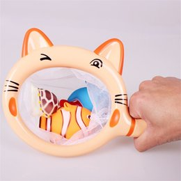 Wholesale bathing items - Bathing Toys Cute Animal A Fishing Toy Take A Shower Pvc Funny Water Game Gift For Children Hot Sale 8bs W