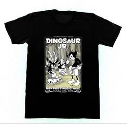 Affiches de dinosaures en Ligne-Dinosaur Jr. Concert Affiche T-shirt Animaniacs Hommes T Shirt Grande Qualité Homme Drôle Coton Harajuku Funny Tops