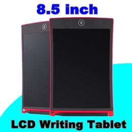 LCD Schreib Tablet Digital Digital Portable 8,5 Zoll Zeichnung Tablet Handschrift Pads Elektronische Tablet Board für Erwachsene Kinder Kinder von Fabrikanten