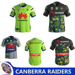 Wholesale raiders jerseys - 2018 NRL JERSEYS CANBERRA RAIDER S Rugby 17 18 Home Jerseys NRL National CANBERRA RAIDER S 2018 MULTICULTURAL JERSEY size s-3xL